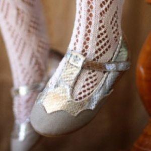 Joyfolie Luna Silver & Gray Baby Shoes